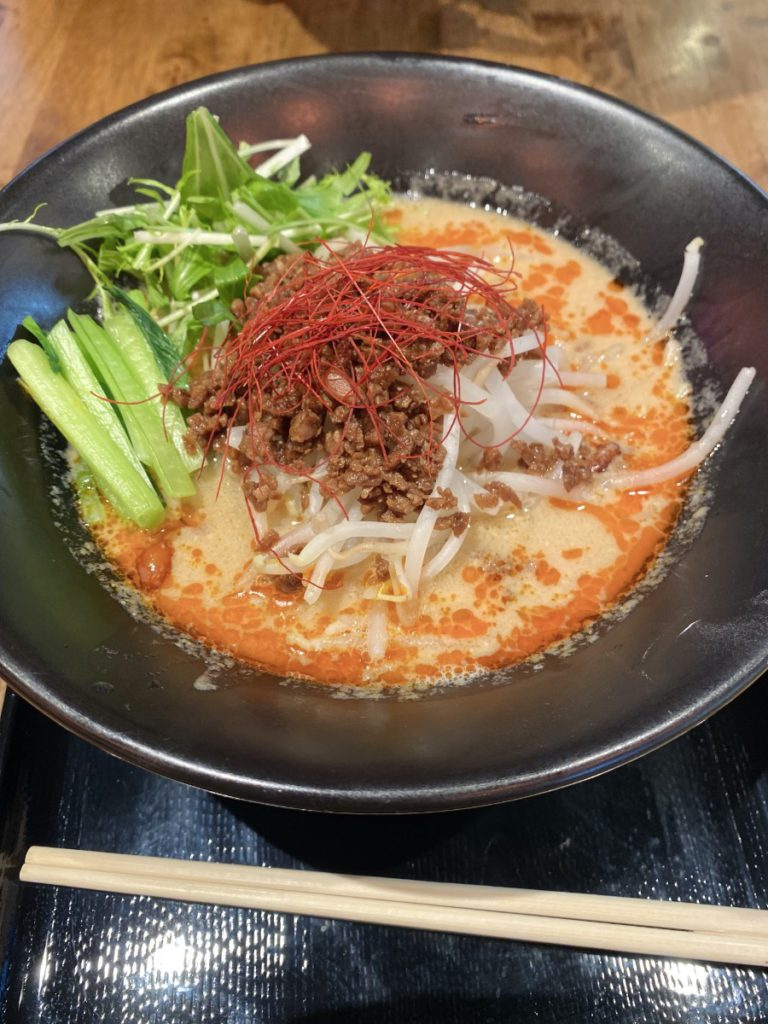 Vegan Tantanmen in Okinawa from Sora no Iro